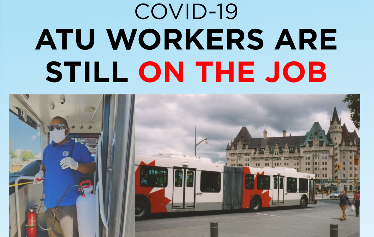 ATU Workers still on the job