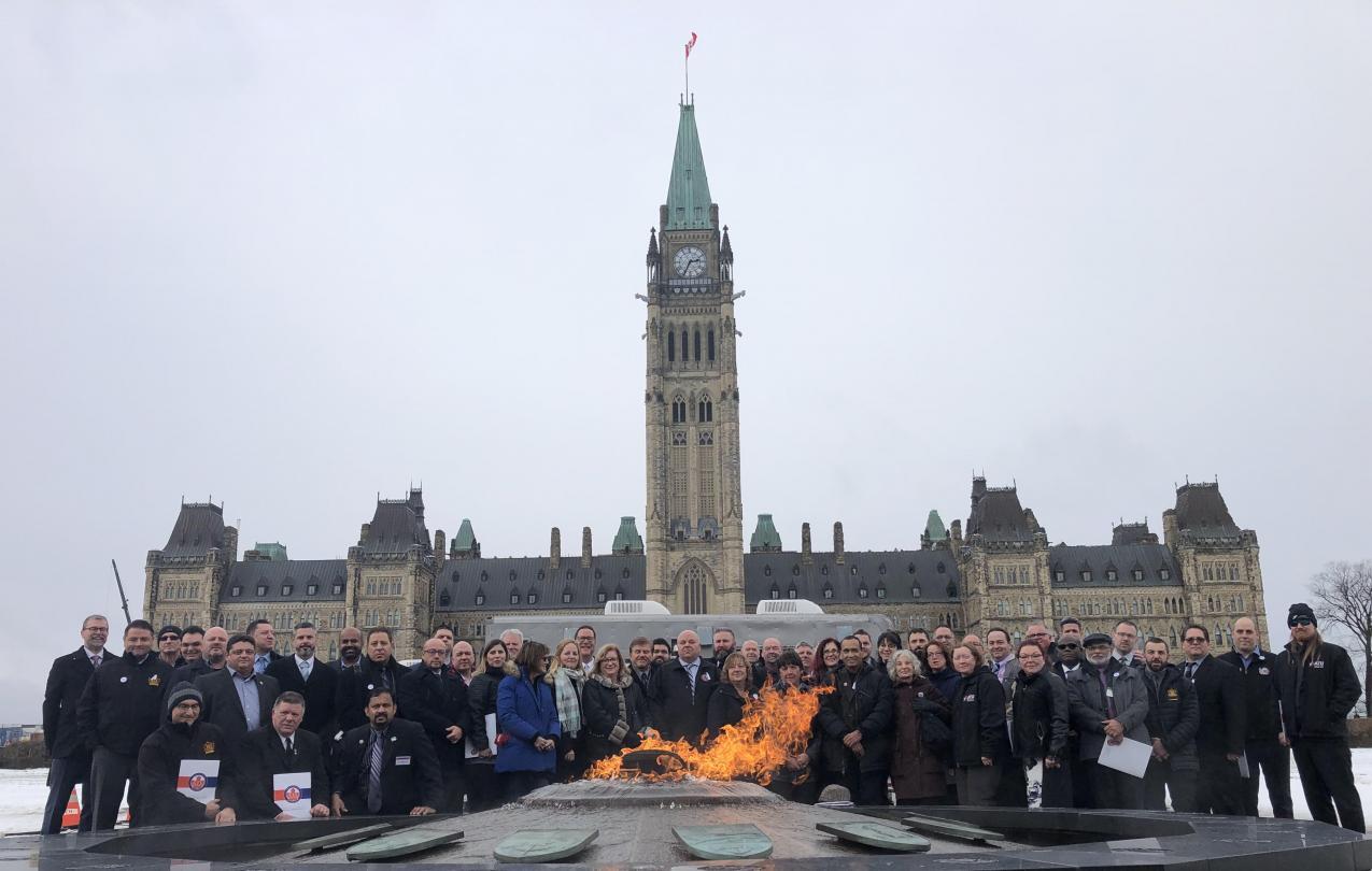ATU Canada Lobby Day 2018