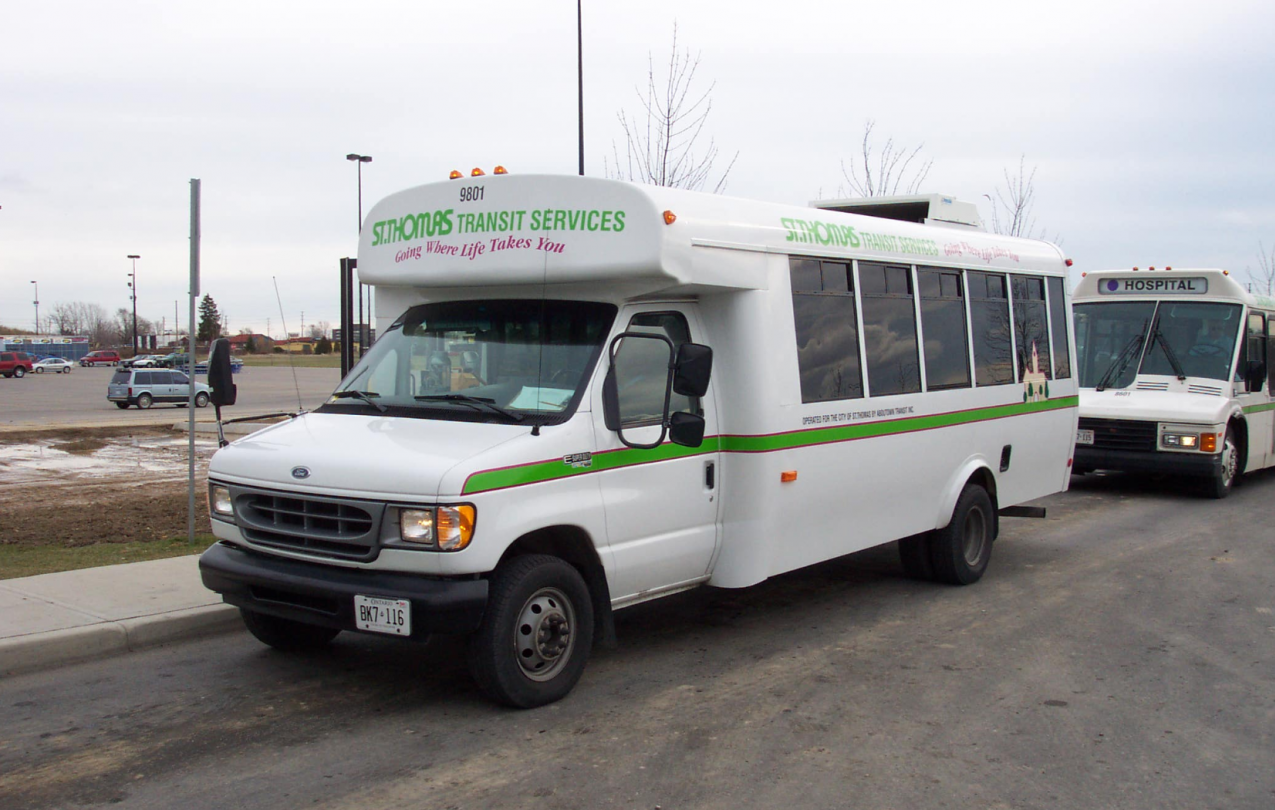 St. Thomas Transit Bus