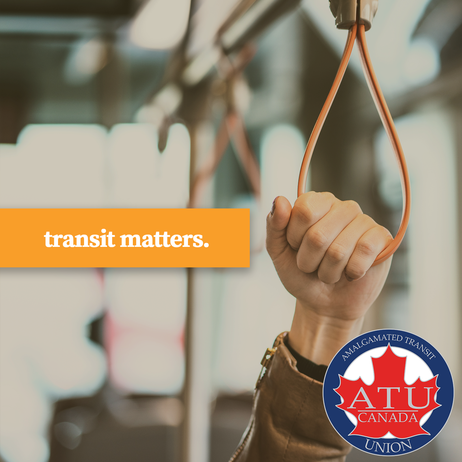 Transit Matters hand