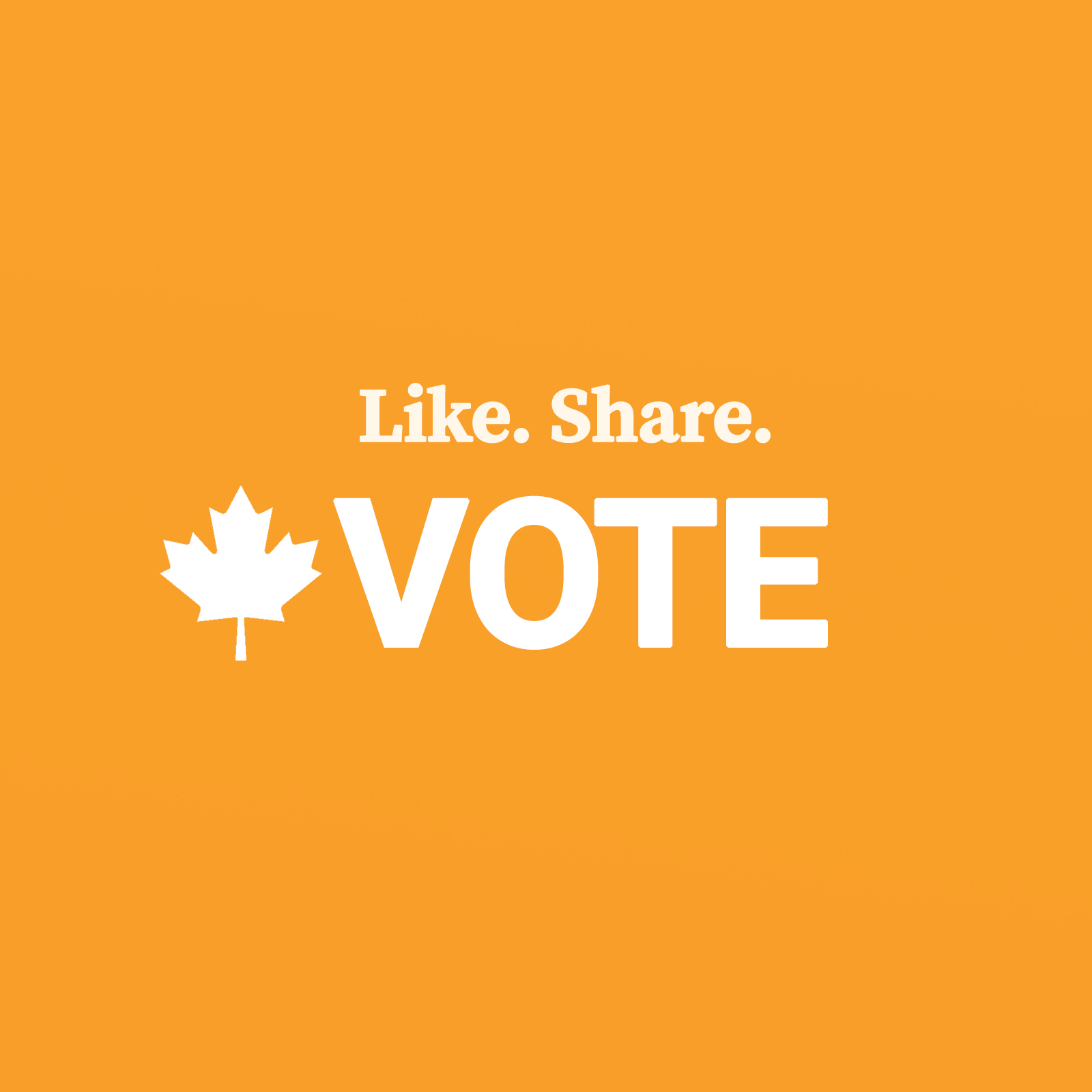 Like Share Vote election image