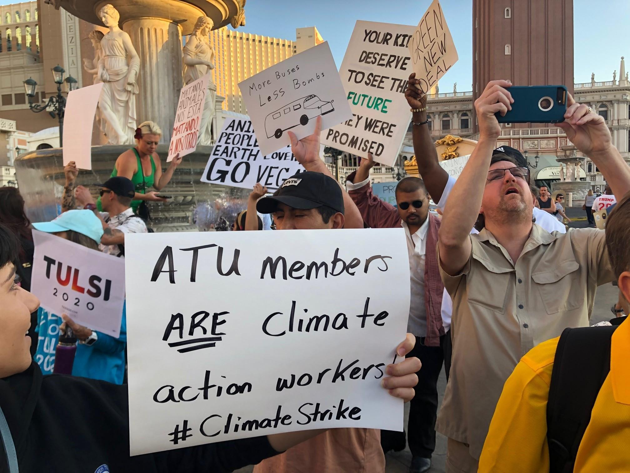 transit workers are climate action workers